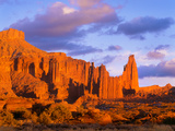 Fisher Towers at Sunset. Blm. Southeast Utah Photographic Print by George H.H. Huey
