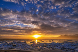 Icebergs-Jokulsarlon Glacial Lagoon, Breidamerkurjokull Glacier, Vatnajokull Ice Cap, Iceland Photographic Print by Ragnar Th Sigurdsson