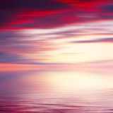 Abstract Sunrise Seascape Background Photographic Print by Paul Watzlaw