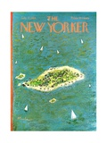 The New Yorker Cover - July 27, 1968 Regular Giclee Print by Abe Birnbaum