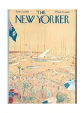 The New Yorker Cover - June 21, 1958 Regular Giclee Print by Garrett Price
