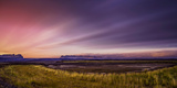 Sunset over Skeidararsandur Outwash Plains, Iceland Photographic Print by Ragnar Th Sigurdsson