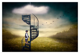 Stairway to Heaven Prints by Ben Goossens