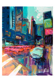 Trafic City Posters by Marc Archambault