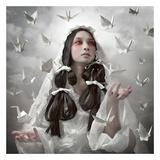 """Goddess of """"Origami"""" Posters by Kiyo Murakami"""