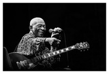 BB King Poster by Alice Lorenzini
