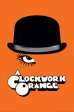 A Clockwork Orange- Bowler & Eyelash Poster