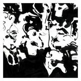 Black 4 Posters af Diane Lambin