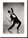 Puttin' On The Ritz Stretched Canvas Print by  The Chelsea Collection