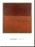 Untitled, 1959 Stretched Canvas Print by Mark Rothko