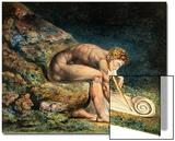 Newton Poster von William Blake