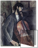 The Cellist Posters by Amedeo Modigliani