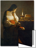 The Magdalene with a Night Light Posters by Georges de La Tour