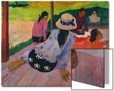 The Siesta, about 1892-94 Affiches par Paul Gauguin