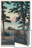 Mount Fuji Seen from Tagonoura in the Evening Prints by Kawase Hasui