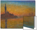 Venice by Twilight, 1908 Posters by Claude Monet