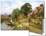 Summer Idyll Prints by Henry John Yeend King