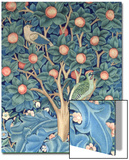 The Woodpecker Tapestry, Detail of the Woodpeckers, 1885 (Tapestry) Prints by William Morris
