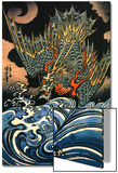 Dragon Posters by Kuniyoshi Utagawa