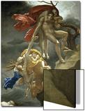 Scene de Deluge Prints by Anne-Louis Girodet de Roussy-Trioson