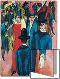 Berlin Street Scene, 1913-14 Prints by Ernst Ludwig Kirchner