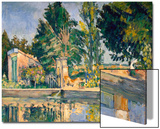 Jas De Bouffan, the Pool, C1876 Prints by Paul Cézanne