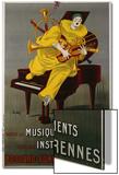 Toute la Musique, Tous Les Instruments, 1925 Prints by  Lotti