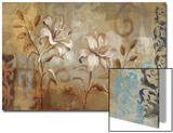 Flowers on Silver I Prints by Silvia Vassileva