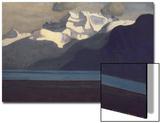 Lac Leman and Les Dents-Du-Midi, 1919 Poster by Félix Vallotton