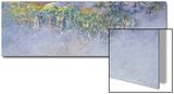 Wisteria, 1919-20 Prints by Claude Monet