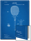 Tennis Racket Patent Prints