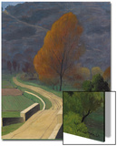 Bridge over the Beal, 1922 Posters by Félix Vallotton