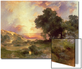 Landscape, 1920 Art by Thomas Moran