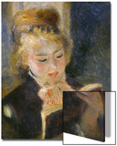 Girl Reading, c.1874 Poster by Pierre-Auguste Renoir
