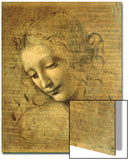 Head of a Young Woman La Scapigliata (the Lady of the Disheveled Hair) Poster by  Leonardo da Vinci