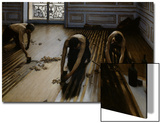 Floor Scrapers Poster by Gustave Caillebotte