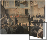 The Panama Trial, Illustration from 'Le Petit Journal: Supplement Illustre', 2nd January 1898 Prints by Fortuné Louis Méaulle