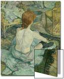 La Toilette, 1896 Prints by Henri de Toulouse-Lautrec