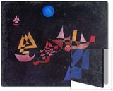 Abfahrt Der Schiffe, 1927 Poster by Paul Klee