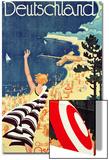Deutschland: an Der Ostsee, C.1930 (Colour Lithograph Prints by Richard Friese