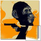 Gun Monkey Art by  Bezt