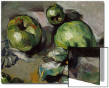 Green Apples, c.1873 Poster by Paul Cézanne