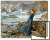 Miranda, 1916 Prints by John William Waterhouse