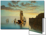 Evening Tide Prints by William Partridge Burpee