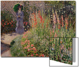 Gladioli, c.1876 Posters by Claude Monet