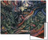 Stage of Mind: The Farewells Prints by Umberto Boccioni