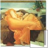 June in Flammen, 1895 Kunstdrucke von Frederick Leighton