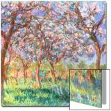 Printemps a Giverny, 1900 Prints by Claude Monet