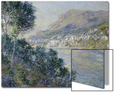 A View of Cape Martin, Monte Carlo Poster by Claude Monet