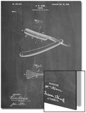 Shaving Razor Patent Poster